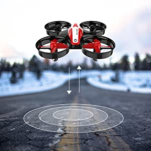 0f32e6b3 d187 4568 ab0a 0953f8e863e5. CR0,0,500,500 PT0 SX300   - Holy Stone HS210 Mini Drone RC Nano Quadcopter Best Drone for Kids and Beginners RC Helicopter Plane with Auto Hovering, 3D Flip, Headless Mode and Extra Batteries Toys for Boys and Girls