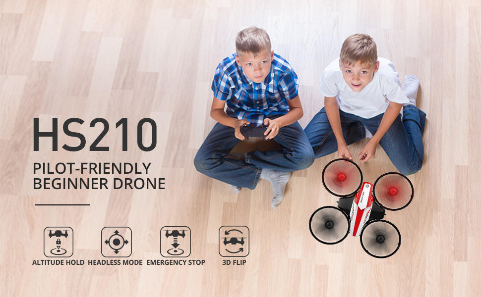 0f791f8c 9a4c 4c30 9238 7cc2ca4e3674. CR0,0,970,600 PT0 SX970   - Holy Stone HS210 Mini Drone RC Nano Quadcopter Best Drone for Kids and Beginners RC Helicopter Plane with Auto Hovering, 3D Flip, Headless Mode and Extra Batteries Toys for Boys and Girls