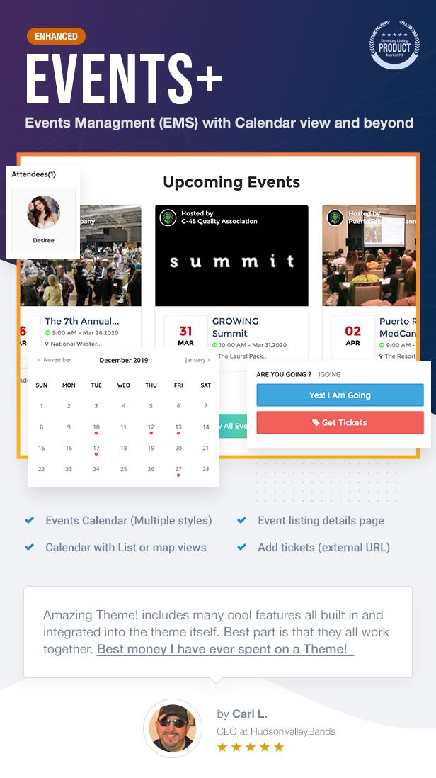 10 EVENTS - ListingPro - WordPress Directory Theme