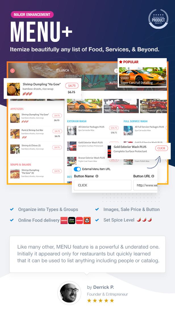 11 MENU - ListingPro - WordPress Directory Theme