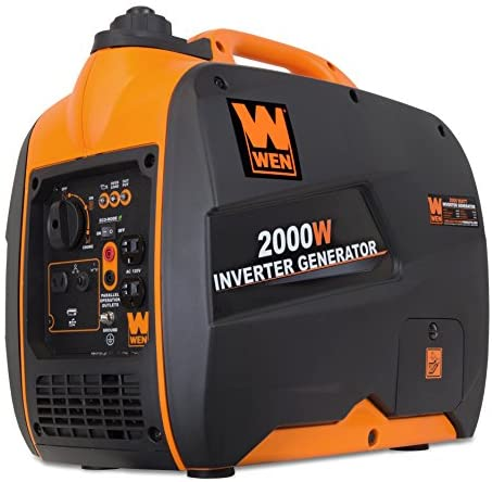 1596682806 5143dH9R8eL. AC  - WEN 56200i 2000-Watt Gas Powered Portable Inverter Generator, CARB Compliant