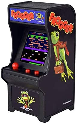 1597073432 417PO13ztBL. AC  - Tiny Arcade Frogger Miniature Arcade Game, Multicolor