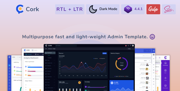 1597227232 571 01 preview.  large preview - Cork - HTML and Laravel Bootstrap Admin Dashboard Template