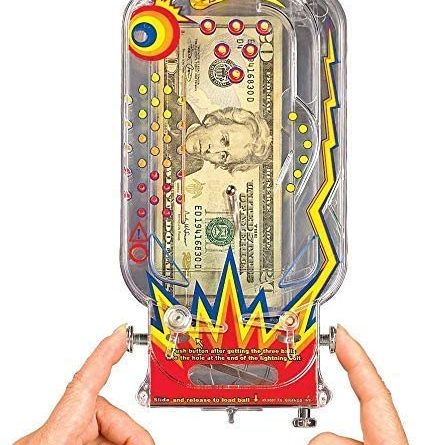1598157254 51kxNY2rZiL. AC  428x445 - BILZ Money Maze - Cosmic Pinball for Cash, Gift Cards and Tickets, Fun Reusable Game