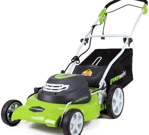 1598374764 51acxmsF7AL. AC  492x445 - Greenworks 20-Inch 3-in-1 12 Amp Electric Corded Lawn Mower 25022