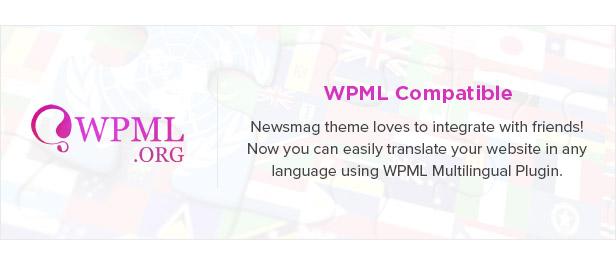 16 wpml - Newsmag - Newspaper & Magazine WordPress Theme