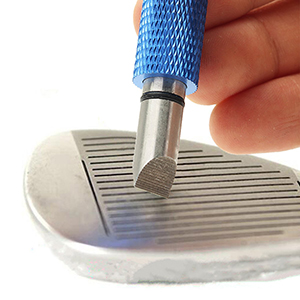 184b2d4f ebf3 4e24 b47d 2dcb1b2186ba. CR0,0,300,300 PT0 SX300   - Golf Club Groove Sharpener, Re-Grooving Tool and Cleaner for Wedges & Irons - Generate Optimal Backspin - Suitable for U & V-Grooves