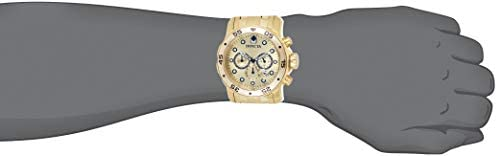 21OdwC1cw8L. AC  - Invicta Men's 0074 pro Diver Analog Japanese Quartz 18k Gold-plated Stainless Steel Watch