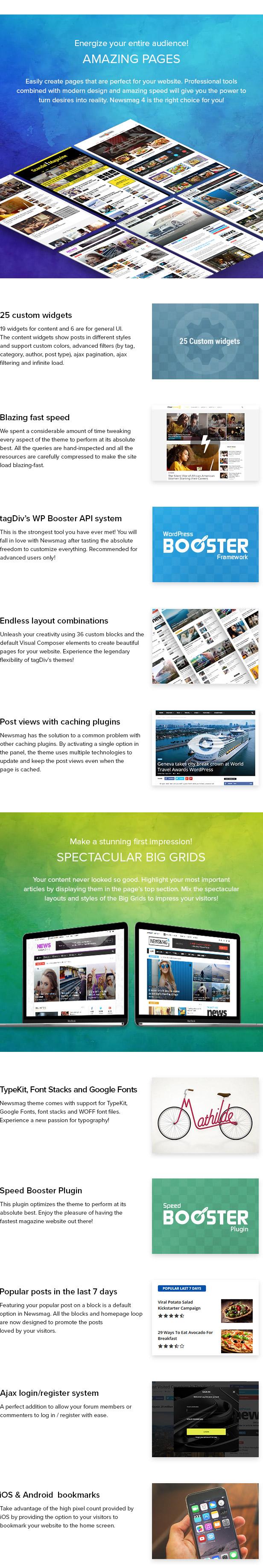 26 pages - Newsmag - Newspaper & Magazine WordPress Theme