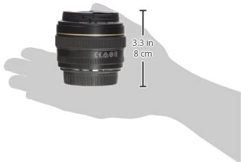 318rm1H06VL. AC  - Canon EF 50mm f/1.4 USM Standard & Medium Telephoto Lens for Canon SLR Cameras - Fixed