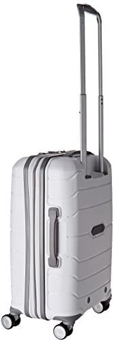 31I9iQ8nczL. AC  - Samsonite Freeform Hardside Expandable with Double Spinner Wheels, White, Carry-On 21-Inch