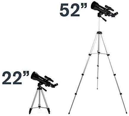 31qGKlfGzML. AC  - Celestron - 70mm Travel Scope - Portable Refractor Telescope - Fully-Coated Glass Optics - Ideal Telescope for Beginners - BONUS Astronomy Software Package