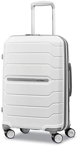 31rLta+6R8L. AC  - Samsonite Freeform Hardside Expandable with Double Spinner Wheels, White, Carry-On 21-Inch