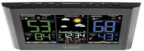 411oCUiSv L. AC  - La Crosse Technology C85845-1 Color Wireless Forecast Station