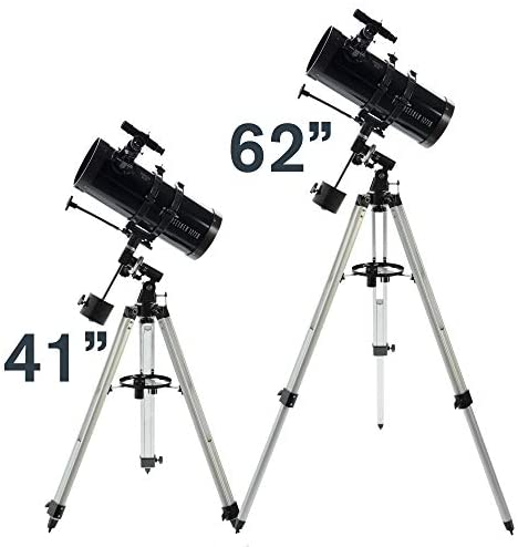 415FPUqEFDL. AC  - Celestron - PowerSeeker 127EQ Telescope - Manual German Equatorial Telescope for Beginners - Compact and Portable - BONUS Astronomy Software Package - 127mm Aperture