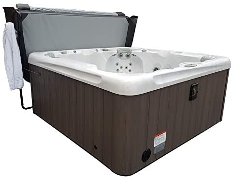 41CTbx771CL. AC  - Smart Spa CoverClassic Classic Hot Tub Cover Lifter, One Size, Black