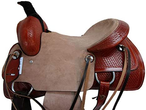 41Cye+i6HoL. AC  - Orlov Hill Leather Co 15 16 17 Roper Ranch Roping Wade Type Trail Pleasure TACK Horse Western Saddle