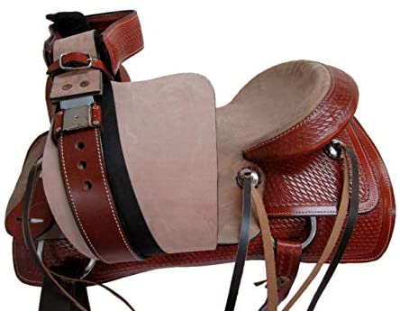 41Eq5jrpo3L. AC  - Orlov Hill Leather Co 15 16 17 Roper Ranch Roping Wade Type Trail Pleasure TACK Horse Western Saddle