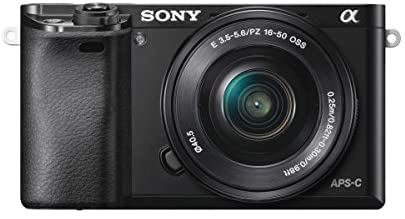 41FCFGbkEKL. AC  - Sony Alpha a6000 Mirrorless Digital Camera w/ 16-50mm and 55-210mm Power Zoom Lenses
