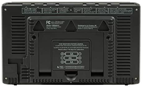 41Ka20sRVSL. AC  - La Crosse Technology C85845-1 Color Wireless Forecast Station