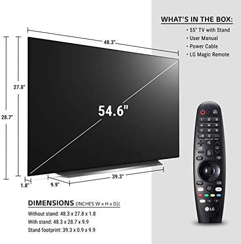 """41NWlYtqhbL. AC  - LG OLED55CXPUA Alexa Built-In CX 55"""" 4K Smart OLED TV (2020)"""