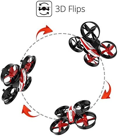 41QSmUtpP6L. AC  - Holy Stone HS210 Mini Drone RC Nano Quadcopter Best Drone for Kids and Beginners RC Helicopter Plane with Auto Hovering, 3D Flip, Headless Mode and Extra Batteries Toys for Boys and Girls