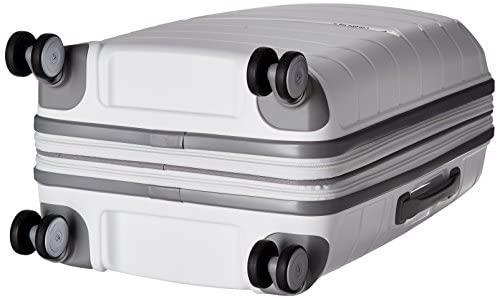 41Rd798LoFL. AC  - Samsonite Freeform Hardside Expandable with Double Spinner Wheels, White, Carry-On 21-Inch