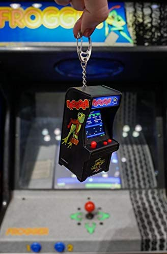 41Rx23djCbL. AC  - Tiny Arcade Frogger Miniature Arcade Game, Multicolor