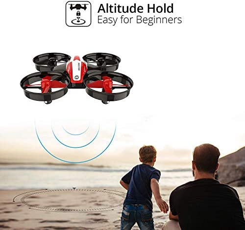41XAtrF9JhL. AC  - Holy Stone HS210 Mini Drone RC Nano Quadcopter Best Drone for Kids and Beginners RC Helicopter Plane with Auto Hovering, 3D Flip, Headless Mode and Extra Batteries Toys for Boys and Girls