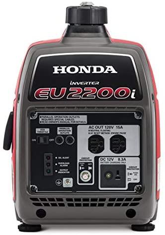 41eMlMBtfGL. AC  - Honda EU2200i 2200-Watt 120-Volt Super Quiet Portable Inverter Generator