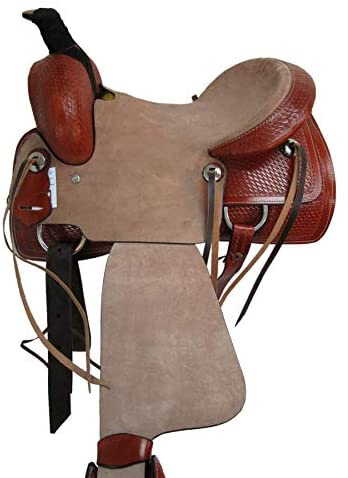 41g6EAiyn3L. AC  - Orlov Hill Leather Co 15 16 17 Roper Ranch Roping Wade Type Trail Pleasure TACK Horse Western Saddle