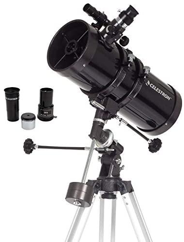41jOjtgbCML. AC  - Celestron - PowerSeeker 127EQ Telescope - Manual German Equatorial Telescope for Beginners - Compact and Portable - BONUS Astronomy Software Package - 127mm Aperture
