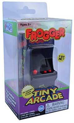 41nogHPiwdL. AC  - Tiny Arcade Frogger Miniature Arcade Game, Multicolor