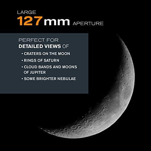 41oIpbBoiuL. AC  - Celestron - PowerSeeker 127EQ Telescope - Manual German Equatorial Telescope for Beginners - Compact and Portable - BONUS Astronomy Software Package - 127mm Aperture