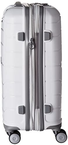 41xPzgxeZ0L. AC  - Samsonite Freeform Hardside Expandable with Double Spinner Wheels, White, Carry-On 21-Inch