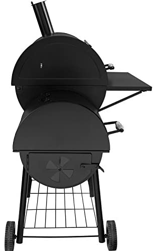 """41zd3FBxJ L. AC  - Royal Gourmet 30"""" BBQ Charcoal Grill and Offset Smoker 