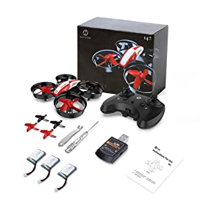 4670f33e 0d07 4943 954d fe95c3489764.  CR0,0,1000,1000 PT0 SX300 V1    - Holy Stone HS210 Mini Drone RC Nano Quadcopter Best Drone for Kids and Beginners RC Helicopter Plane with Auto Hovering, 3D Flip, Headless Mode and Extra Batteries Toys for Boys and Girls