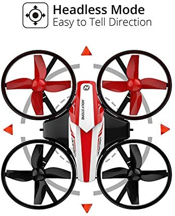 51+PzUq6P2L. AC  - Holy Stone HS210 Mini Drone RC Nano Quadcopter Best Drone for Kids and Beginners RC Helicopter Plane with Auto Hovering, 3D Flip, Headless Mode and Extra Batteries Toys for Boys and Girls