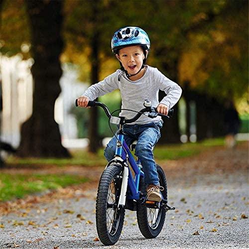 512Zc50cCxL. AC  - RoyalBaby Kids Bike Boys Girls Freestyle Bicycle 12 14 16 inch with Training Wheels,16 18 20 inch with Kickstand Child's Bike Blue Red Orange Green Pink White Fuchsia