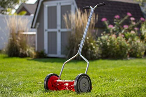 512unPjAQ3L. AC  - Great States 304-14 14-Inch 5-Blade Push Reel Lawn Mower, Red