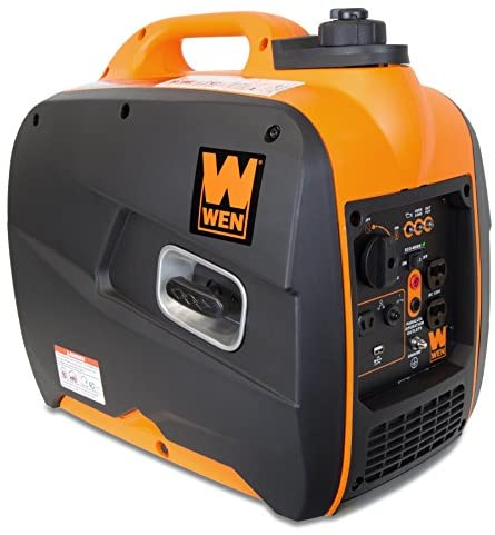 515QCCkb9YL. AC  - WEN 56200i 2000-Watt Gas Powered Portable Inverter Generator, CARB Compliant