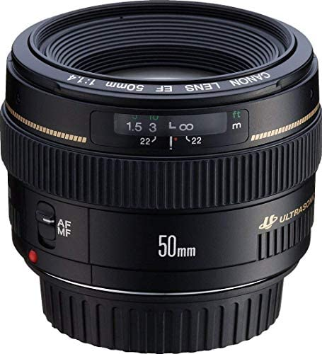 517W0 gDK1L. AC  - Canon EF 50mm f/1.4 USM Standard & Medium Telephoto Lens for Canon SLR Cameras - Fixed