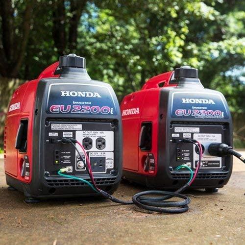 51BsHvM3VJL. AC  - Honda EU2200i 2200-Watt 120-Volt Super Quiet Portable Inverter Generator