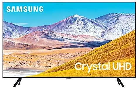 51EnjB8 xlL. AC  - SAMSUNG 65-inch Class Crystal UHD TU-8000 Series - 4K UHD HDR Smart TV with Alexa Built-in (UN65TU8000FXZA, 2020 Model)