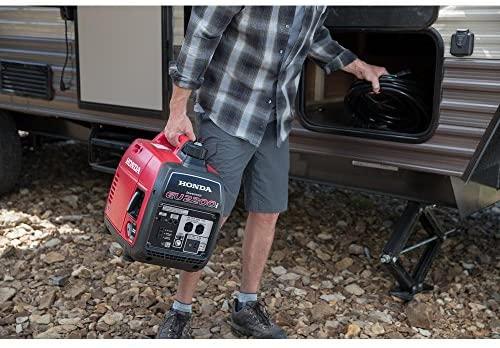 51H3Q E3FUL. AC  - Honda EU2200i 2200-Watt 120-Volt Super Quiet Portable Inverter Generator