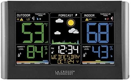 51HD+B6 K0L. AC  - La Crosse Technology C85845-1 Color Wireless Forecast Station