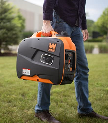 51J VzV7GUL. AC  - WEN 56200i 2000-Watt Gas Powered Portable Inverter Generator, CARB Compliant