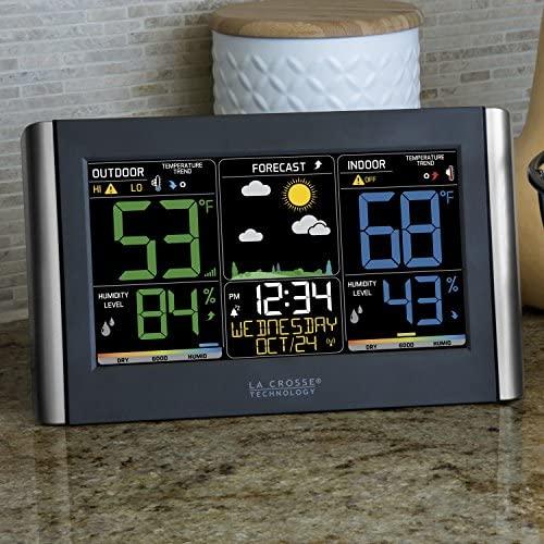 51J5EaJIF8L. AC  - La Crosse Technology C85845-1 Color Wireless Forecast Station