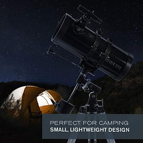 51ZoMKoq7vL. AC  - Celestron - PowerSeeker 127EQ Telescope - Manual German Equatorial Telescope for Beginners - Compact and Portable - BONUS Astronomy Software Package - 127mm Aperture