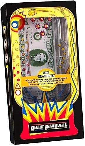 51cnh9lSNcL. AC  - BILZ Money Maze - Cosmic Pinball for Cash, Gift Cards and Tickets, Fun Reusable Game